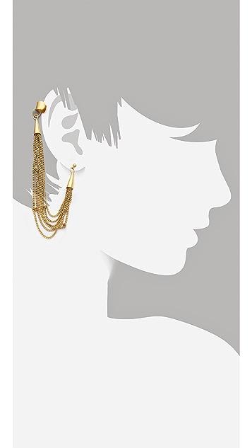 Cornelia Webb Knotted Draped Ear Piece