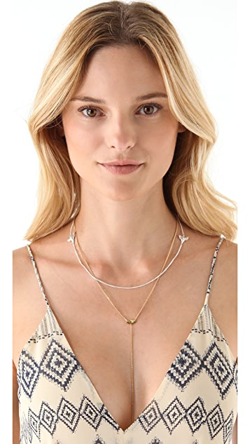 Cornelia Webb Bite Me Twice Necklace