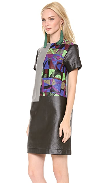 Creatures of the Wind Spliced A Line Tunic Dress