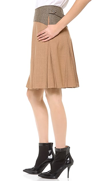 Creatures of the Wind Pleated Yoke Skirt
