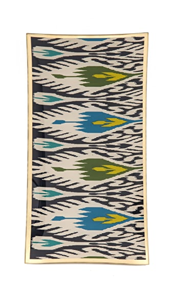 C. Wonder Ikat Glass Tray