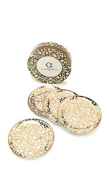 C. Wonder Leopard Dessert Plate Set