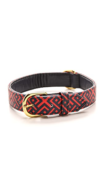 "C. Wonder Linked Diamond 1"" Dog Collar"