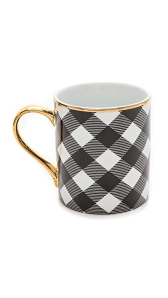 C. Wonder Buffalo Check Coffee Mug