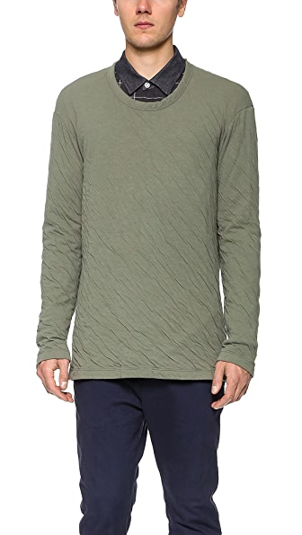 CWST Center Slub Thermal Pullover