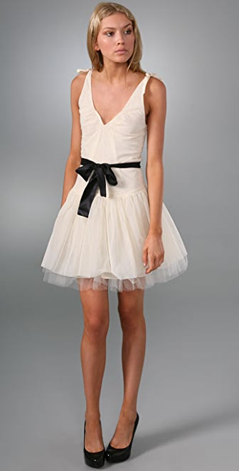 Cynthia Rowley Tulle Dress