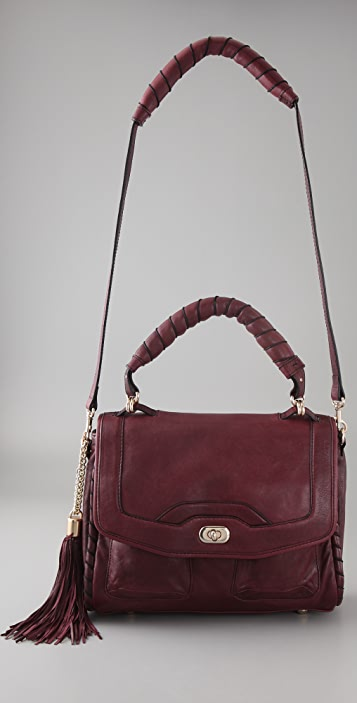 Cynthia Rowley Wrapped Piping Satchel