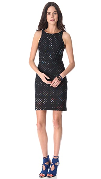 Cynthia Rowley Open Back Neoprene Dress
