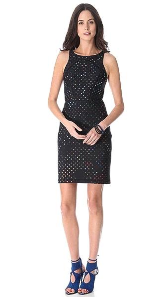 Cynthia Rowley Open Back Neoprene Dress