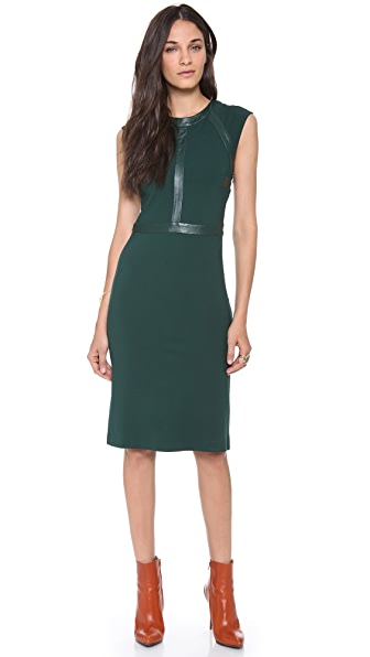 Cynthia Rowley Sleeveless Panel Dress