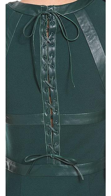 Cynthia Rowley Sleeveless Panel Dress