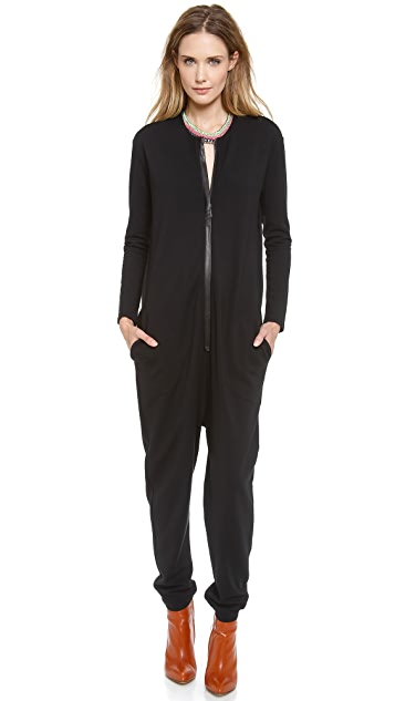 Cynthia Rowley Zip Front Jumpsuit