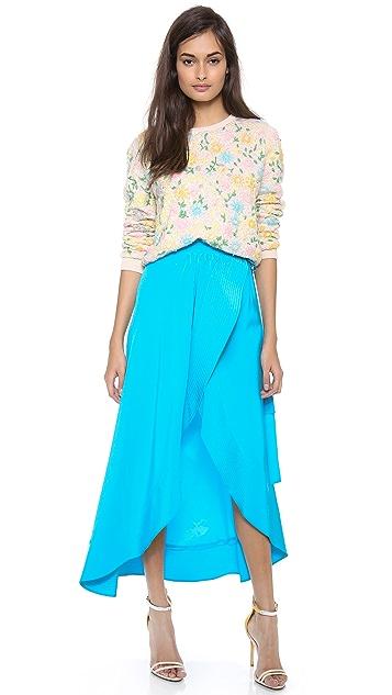 Cynthia Rowley Long Wrap Skirt