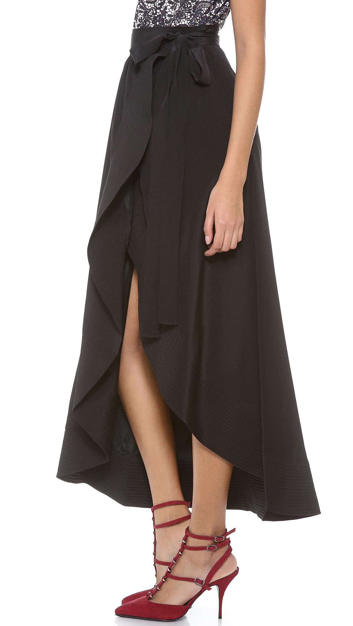 f1e019060 Cynthia Rowley Long Wrap Skirt | SHOPBOP