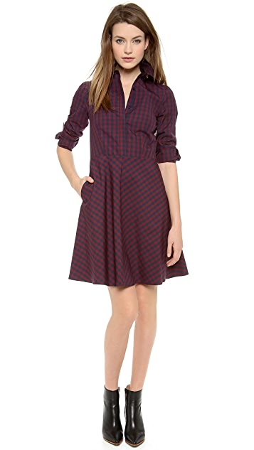 Cynthia Rowley Gingham Shirtdress