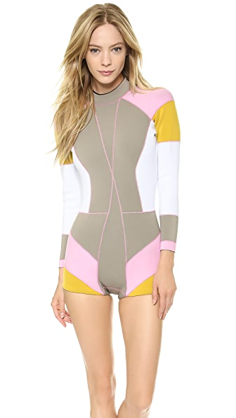 Cynthia Rowley Colorblock Wetsuit