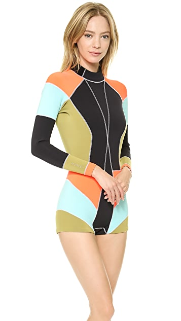 Cynthia Rowley Colorblock Wetsuit
