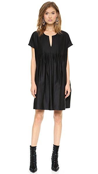 Cynthia Rowley Oversized Tuxedo Dress