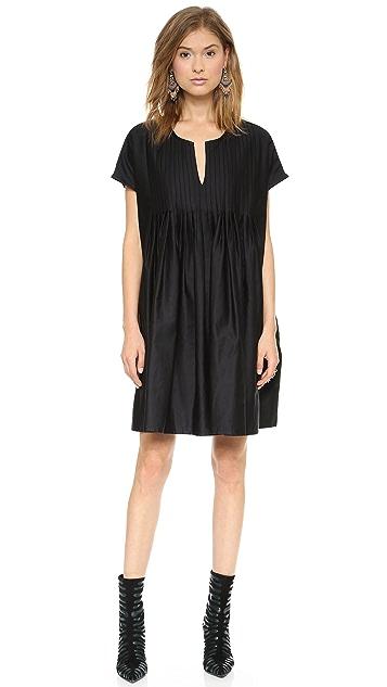 Cynthia Rowley Oversized Tuxedo Dress
