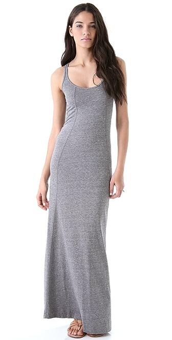 Daftbird Heather Tank Long Dress