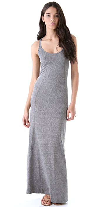 Daftbird Heather Tank Long Dress