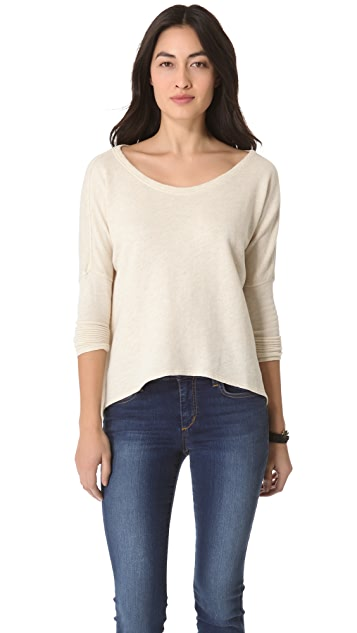 Daftbird Boat Neck Top