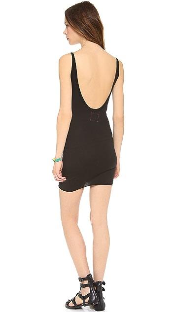 Daftbird Low Back Slip Tank Dress