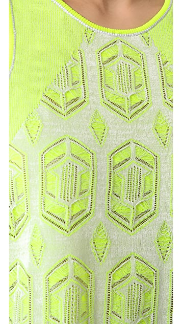 Dagmar Drew Lace Knit Top