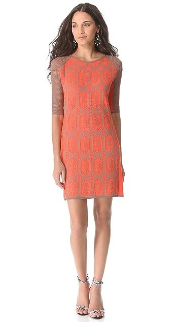 Dagmar Dita Lace Knit Dress