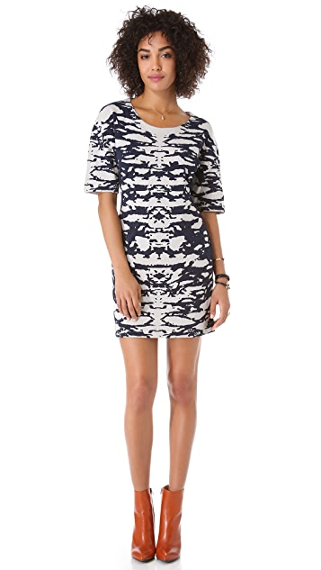 Dagmar Stella Jacquard Shift Dress