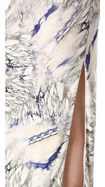 Dagmar Martina Zip Maxi Skirt
