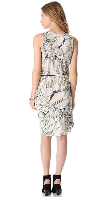 Dagmar Magdalena Faux Wrap Dress