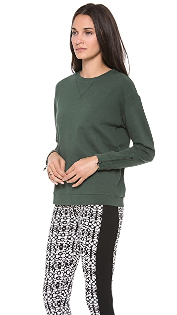 Dagmar Augusta Zip Sleeve Sweatshirt
