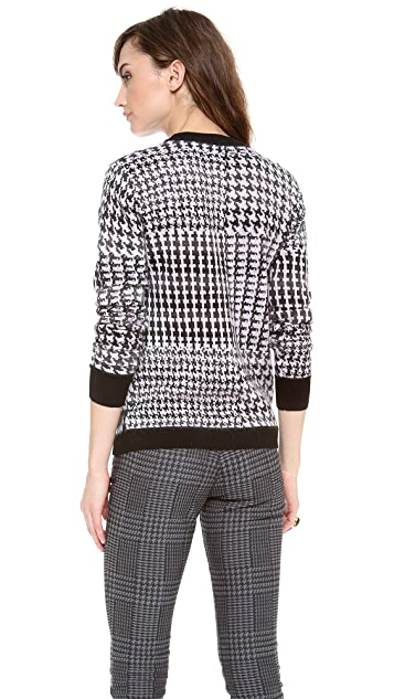 Dagmar Ausuka Coated Print Sweater