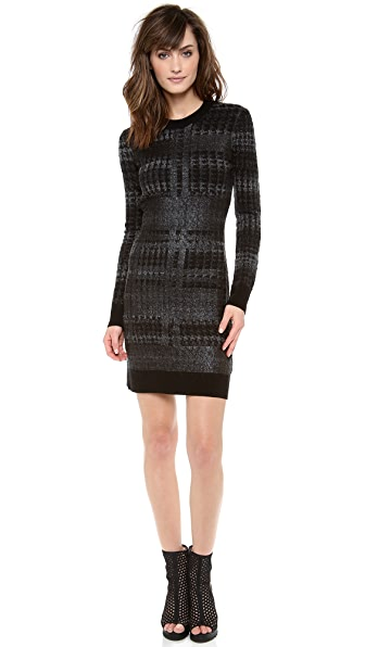 Dagmar Aika Coated Print Dress