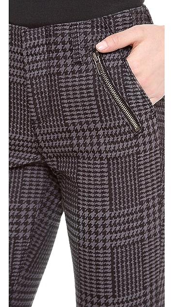 Dagmar Jun Houndstooth Slim Pants