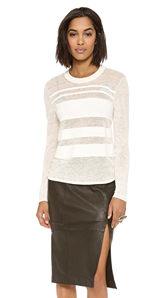Dagmar Ruchi Striped Sweater