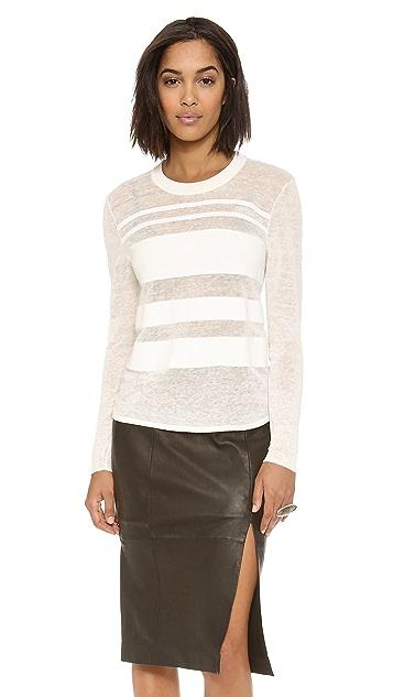 Dagmar Ruchi Striped Sweater