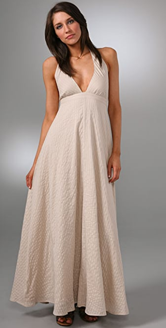 Dallin Chase Halter Long Dress