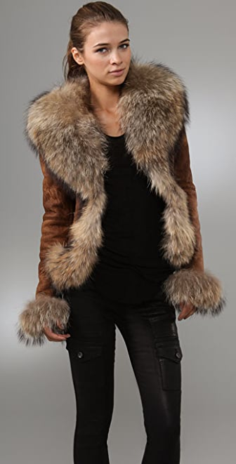 Dallin Chase Amadeus Leather Jacket with Fur