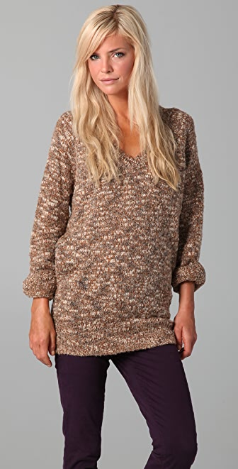 Dallin Chase Larry V Neck Sweater