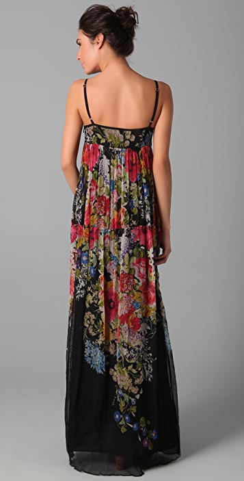 Dallin Chase Dani Floral Gown