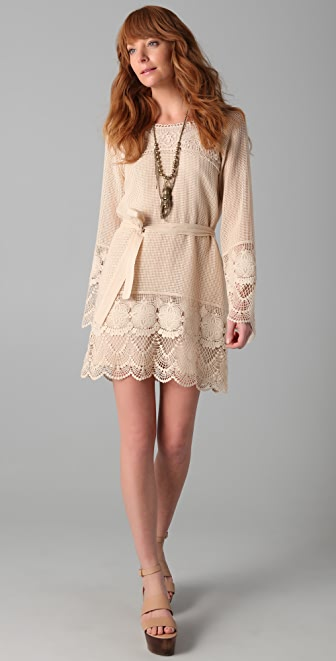 Dallin Chase Kamilo Crochet Dress