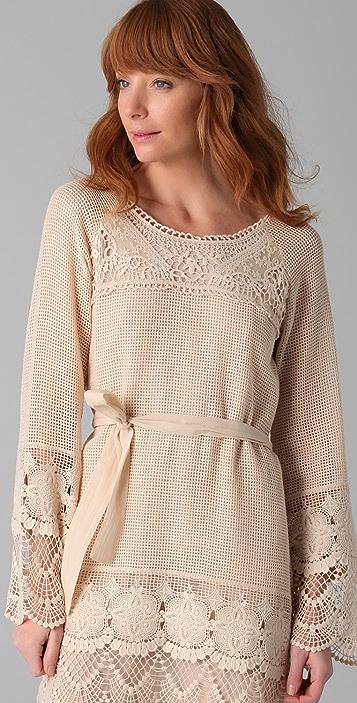 Dallin Chase Kamilo Crochet Dress