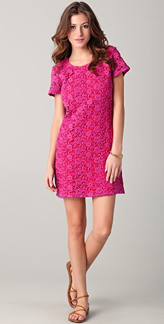 Dallin Chase Rasmus Floral Lace Dress