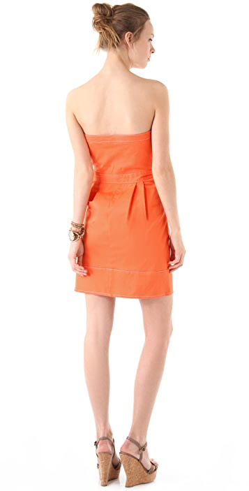 Dallin Chase Matteo Strapless Bustier Dress