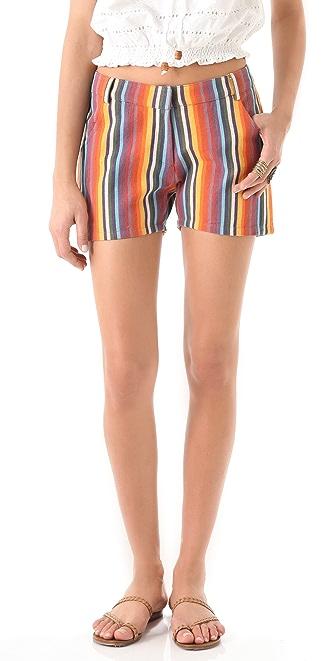 Dallin Chase Jude Striped Shorts