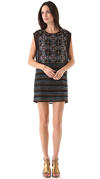 Dallin Chase Ulises Beaded Dress