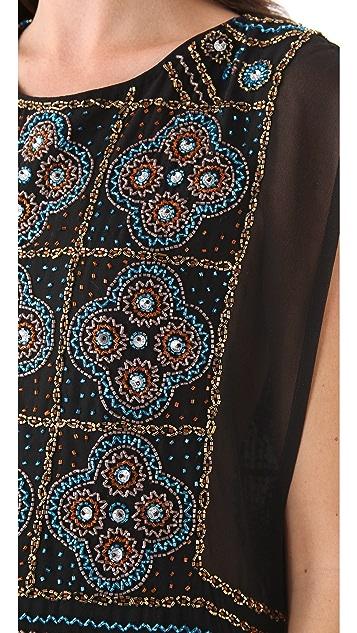 Dallin Chase Ulises Beaded Dress