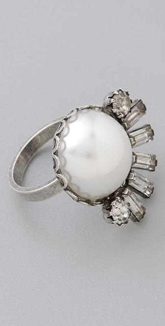 DANNIJO Kayden Pearl Ring